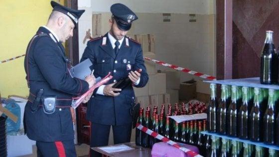 Vino adulterato e contraffatto, arrestato un imprenditore a Lecce