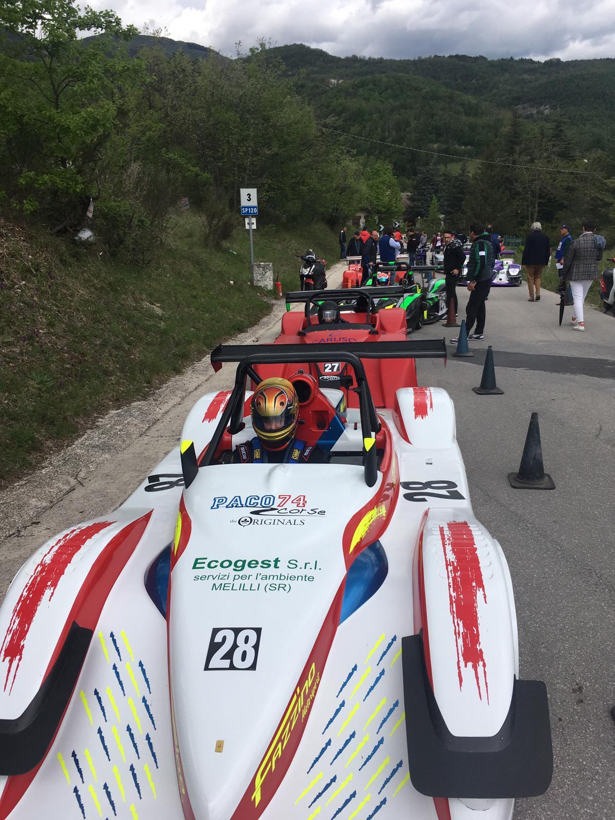 Auto, Fazzino porta in alto il nome di Melilli: è primo di classe nelle Marche