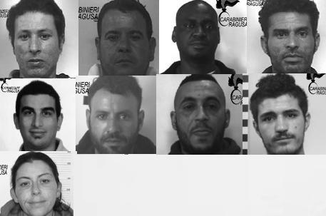 Fiumi di coca tra Modica e Pozzallo: 9 arresti, c'è pure una donna