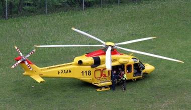 Elicottero del 118 a Rosolini carica  ispicese che aveva tentato il suicidio