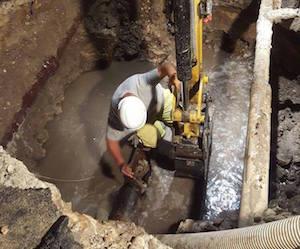 Siracusa, il guasto idrico in Borgata è stato riparato