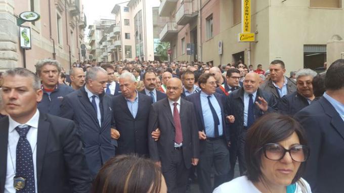 Parco dei Nebrodi, in 5.000 in corteo per dire no alla mafia