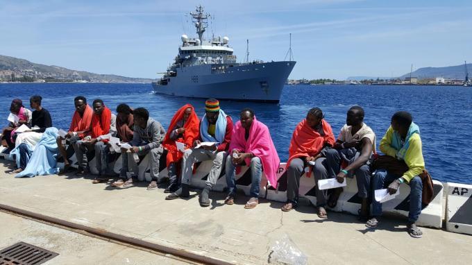 Nuovo sbarco a Messina, arrivati quattrocento migranti