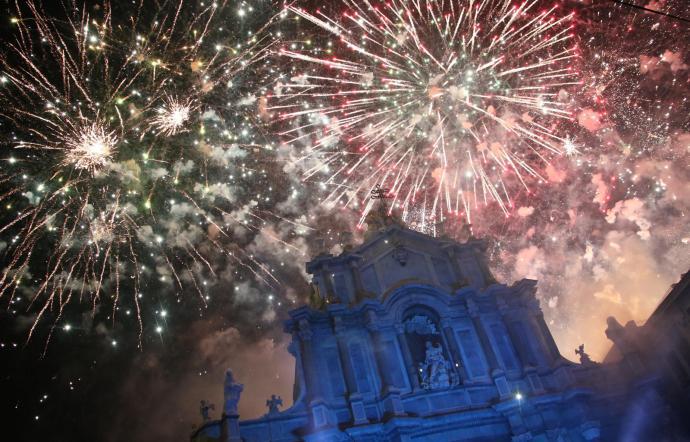 Festa Sant'Agata, sequestro a Catania di 460 chili di fuochi