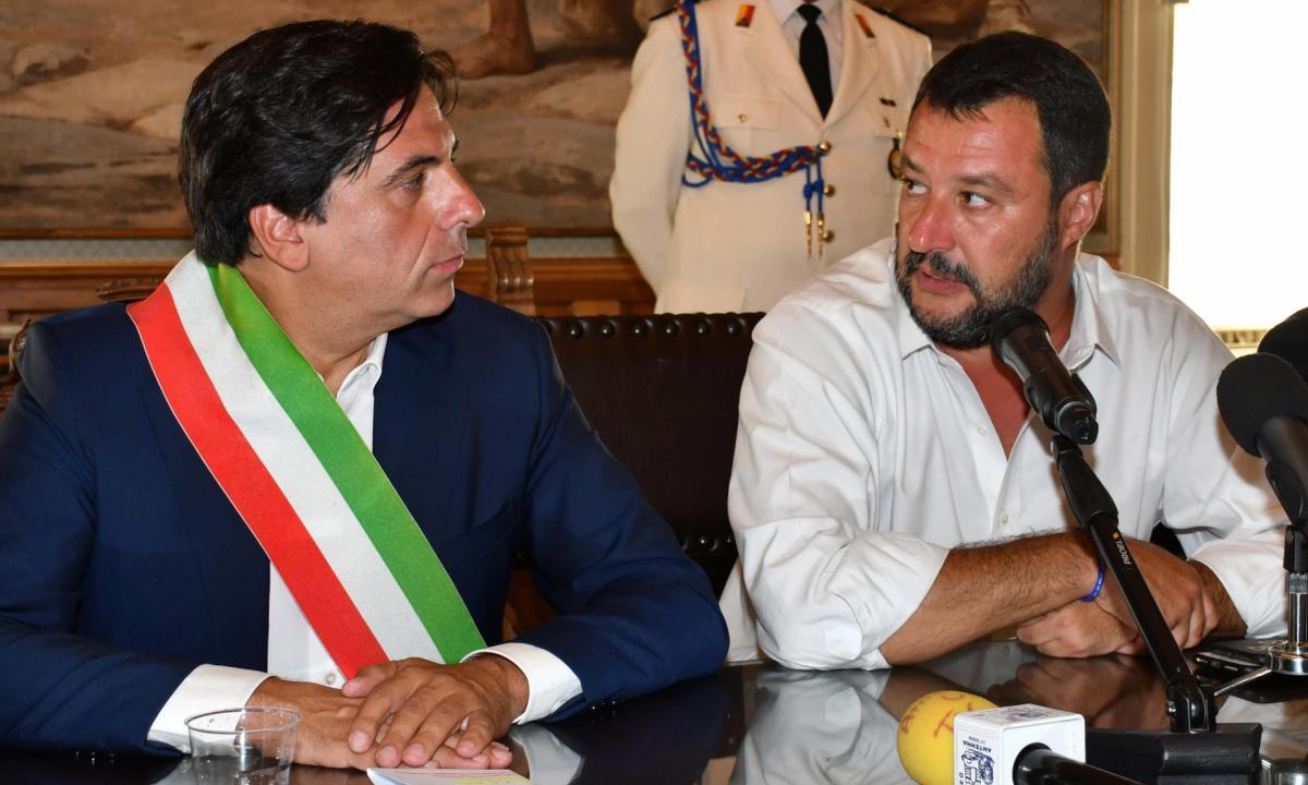 """Il segretario della Lega """"proclama"""" il 3 ottobre giornata della libertà a Catania"""