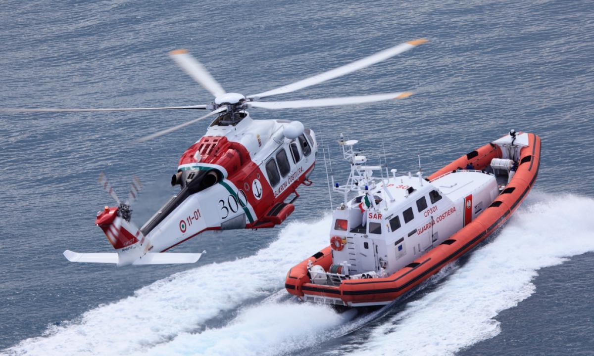 Tre operazioni di salvataggio della Capitaneria a Catania
