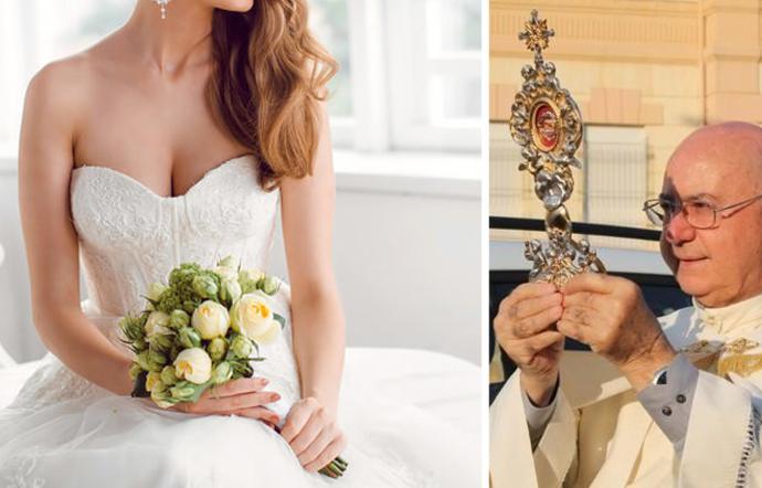 """Prete di Ribera su Facebook: """"No a spose scollacciate in chiesa"""""""