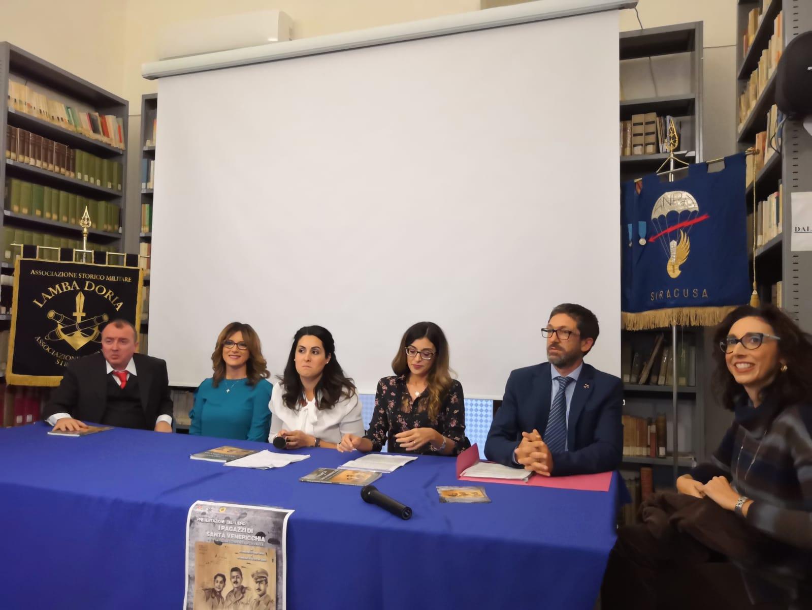 """Libri, """"I ragazzi di Santa Venericchia"""" presentato ad Avola"""