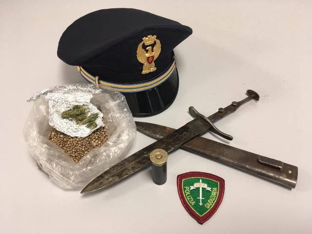 Armi e droga a Lentini, un diciottenne denunciato dalla polizia