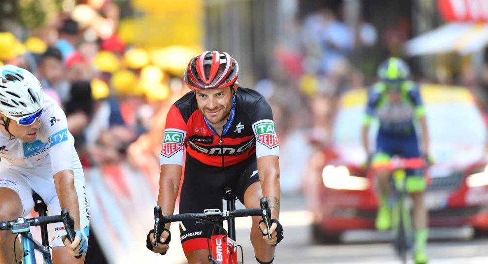 Ciclismo, il ragusano Damiano Caruso è primo al Col de l'Izoard nel Tour de France