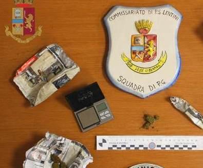 Lentini, due persone denunciate in libertà per spaccio di stupefacenti
