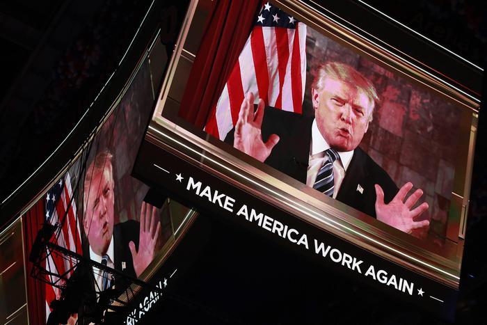 Usa 2016, Cleveland incorona Trump: non vi deluderò