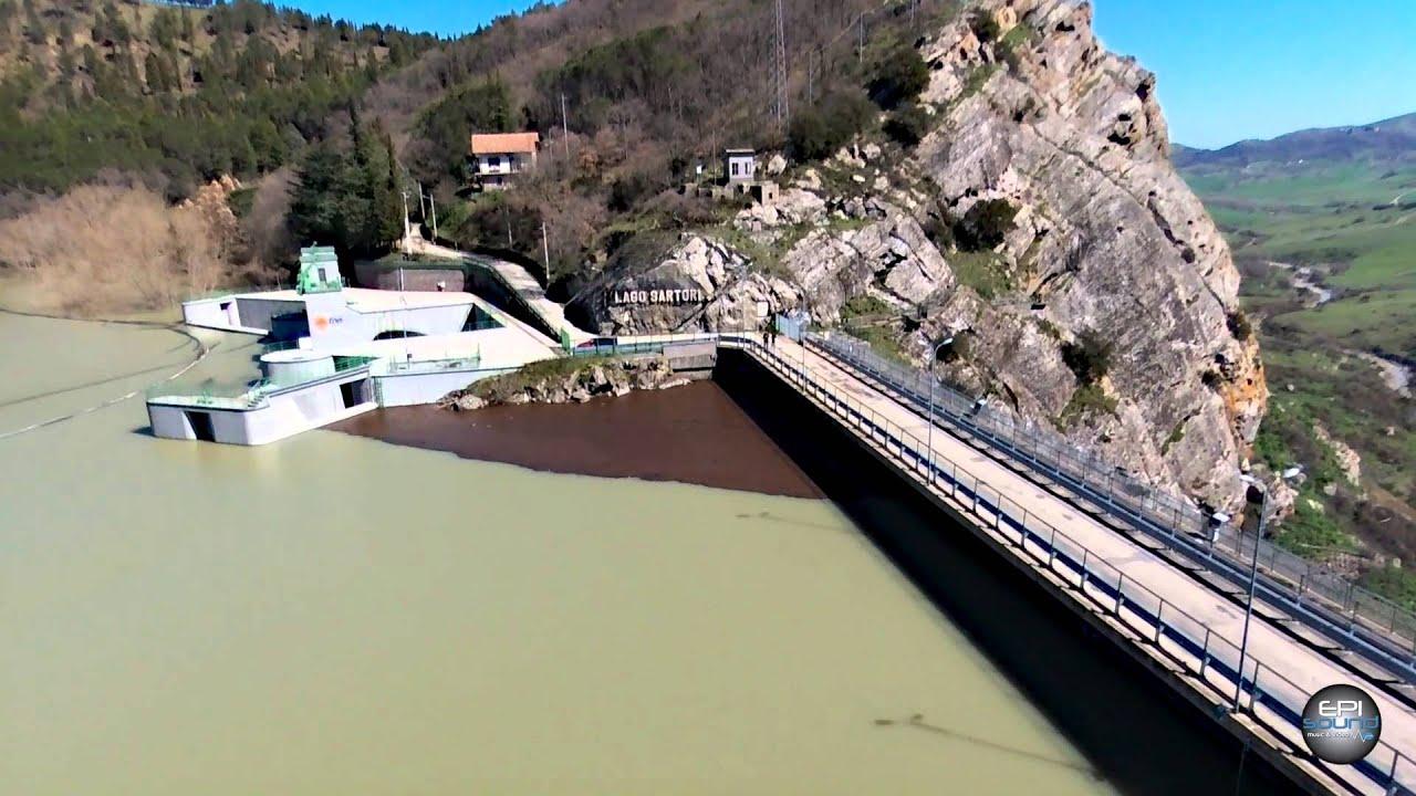 Guasto alla diga dell'Ancipa, rubinetti di Caltanissetta a secco