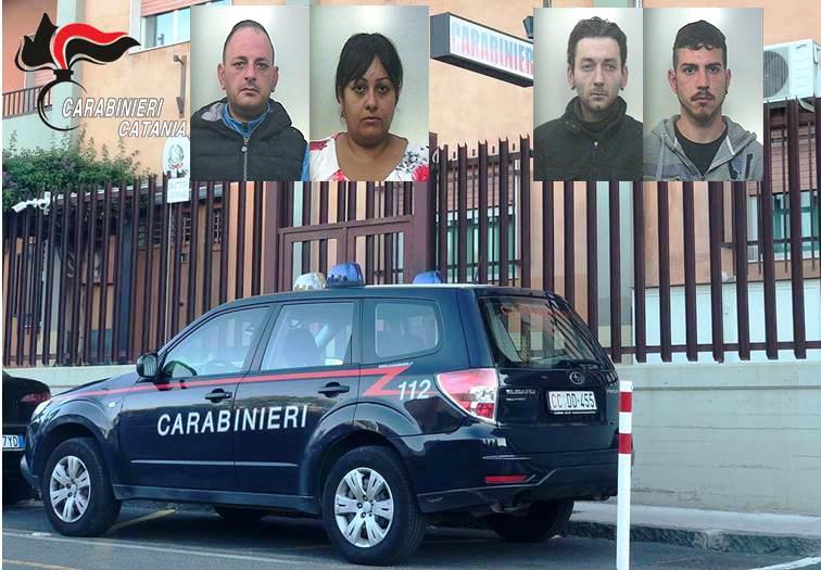 Sgominato un gruppo che spacciava droga a Biancavilla: quattro arresti