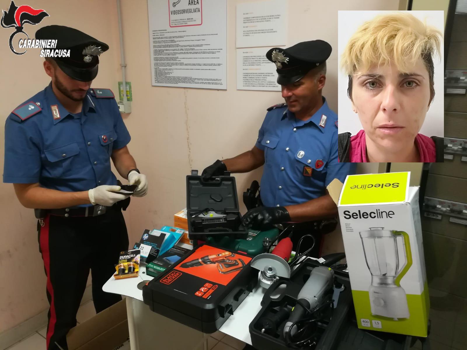 Siracusa, sorpresa a rubare all'Auchan: finisce agli arresti domiciliari