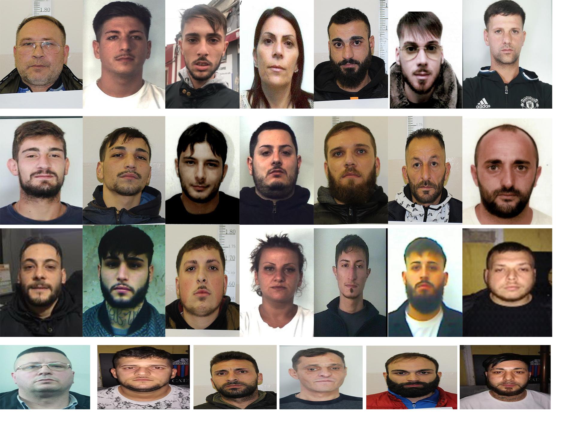 Ex calciatore di Catania e Siracusa gestiva piazza di spaccio: 25 arresti
