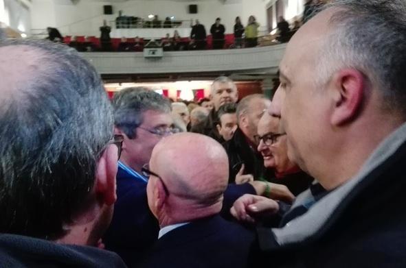 Bagno di folla a Palermo per Totò Cuffaro: lui si commuove