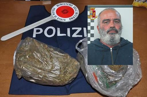 Piazze di spaccio a Siracusa,  preso con più di 2 chili di droga e cartucce calibro 9