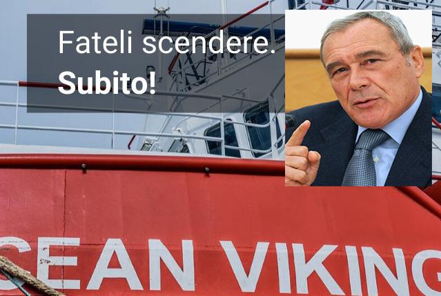 Grasso (Leu): Salvini non governa e 180 migranti restano nella Ocean Viking