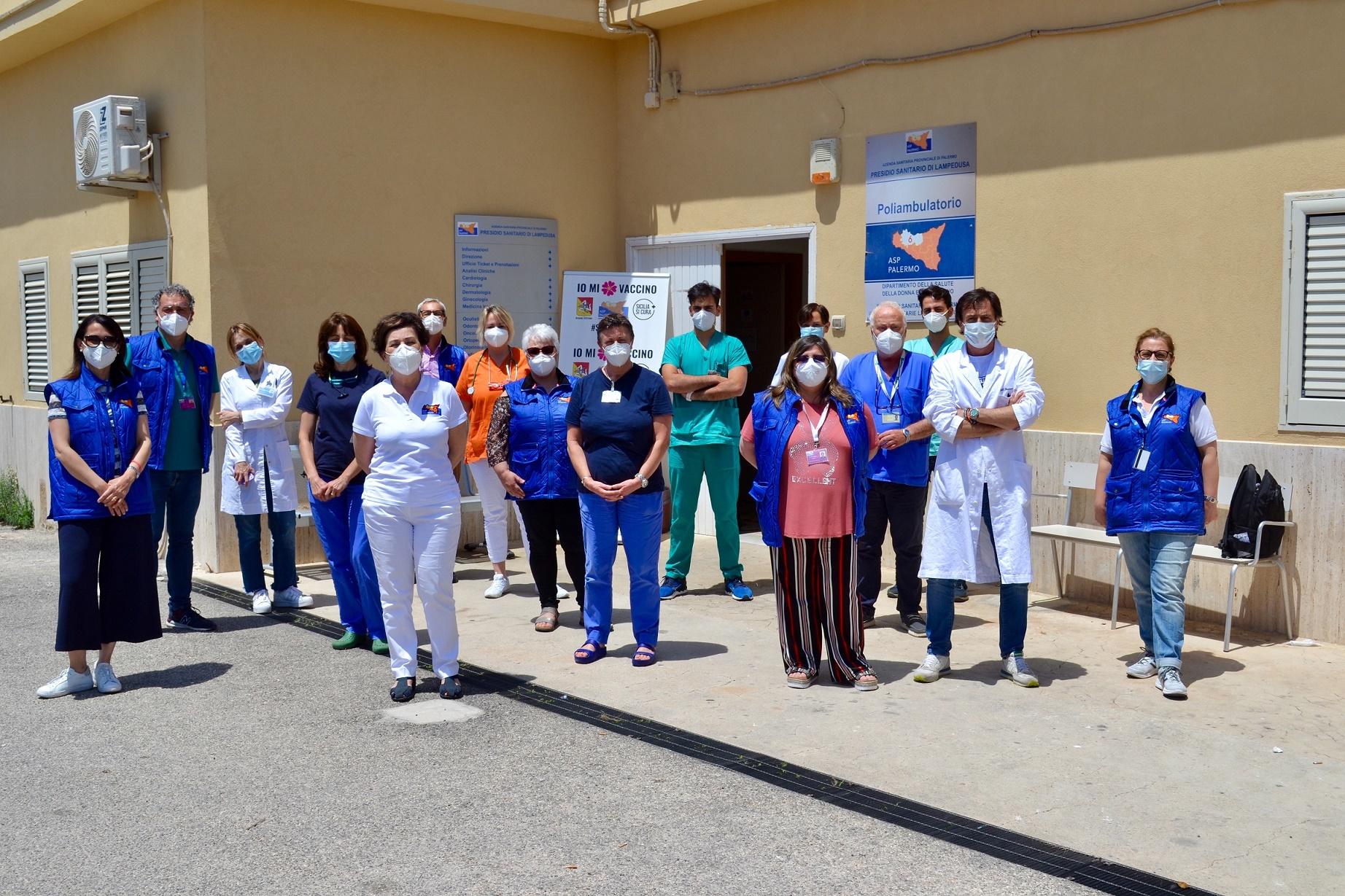 Linosa, il 90% dei residenti ha completato vaccinazioni