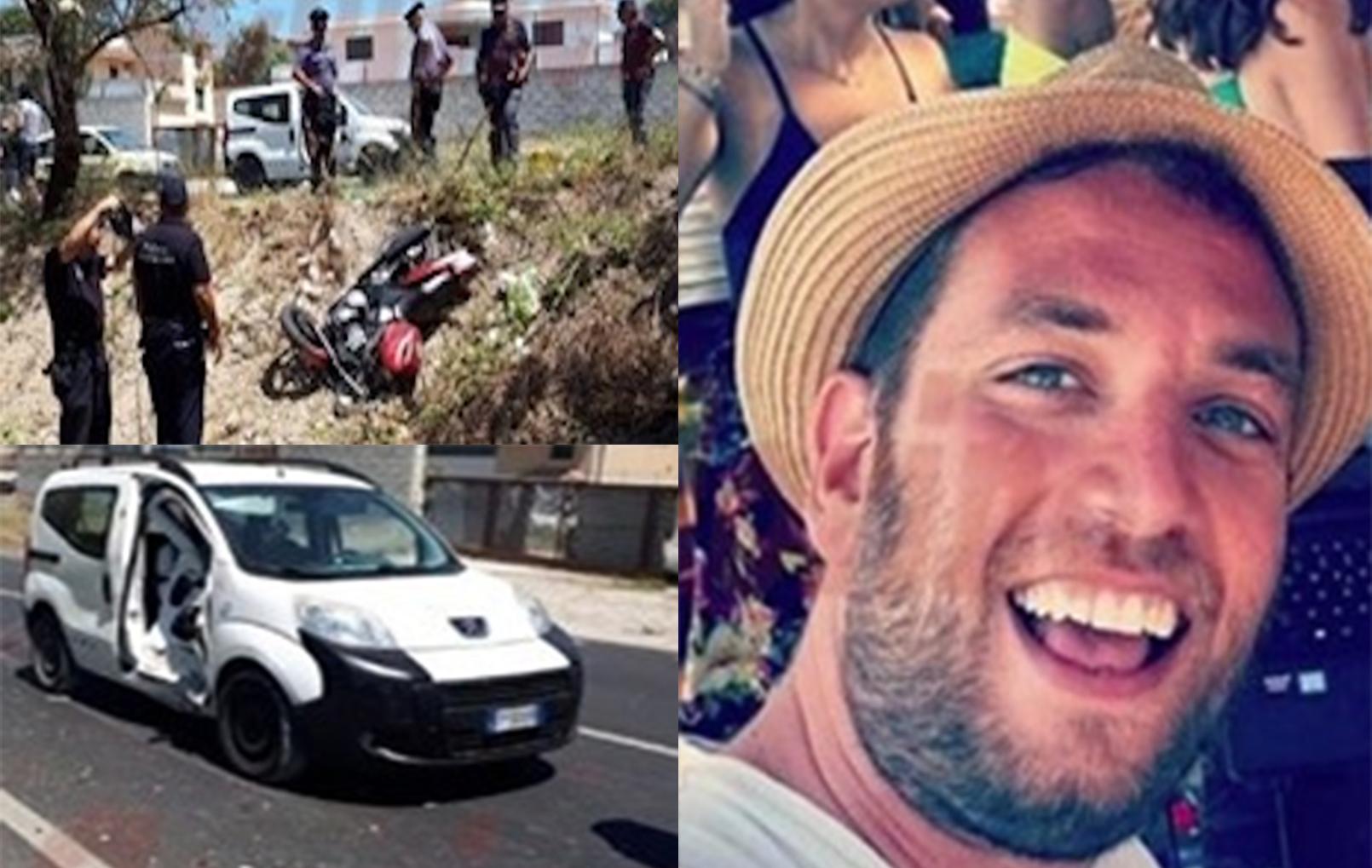 Statale 115, moto contro furgone: morto tecnico radiologo di Rosolini