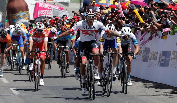 Giro di Sicilia,  Molano concede il bis e vince anche sul traguardo di Mondello