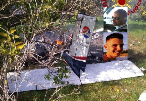 Precipita un piccolo aereo tra Francofonte e Lentini e prende fuoco: 2 morti