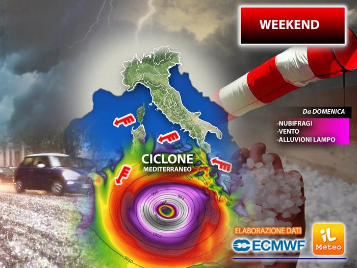 Codice rosso a Reggio Calabria, stop ai viaggi per il maltempo