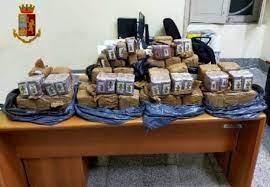Corriere arrestato a Rosarno con 55 chili di hashish