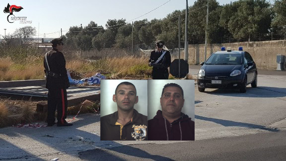 Priolo, rubavano cartelloni pubblicitari: 2 arresti