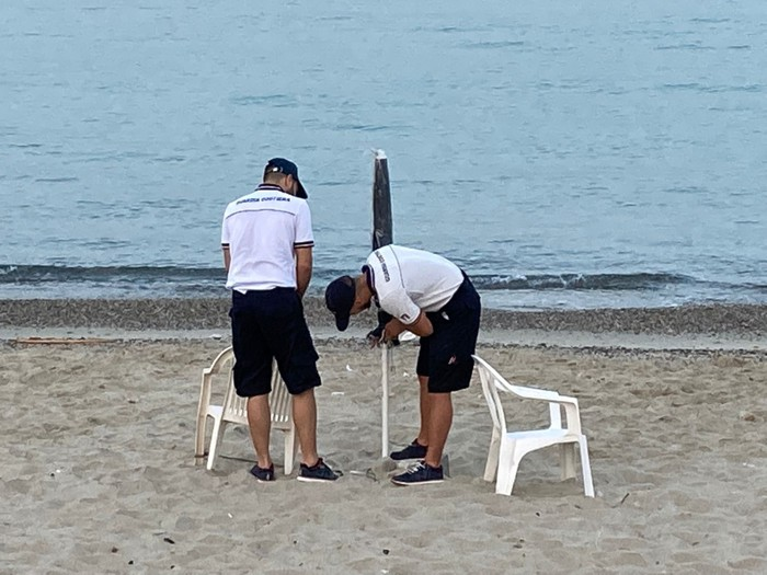 Spiagge occupate abusivamente, sgombero a Villa San Giovanni