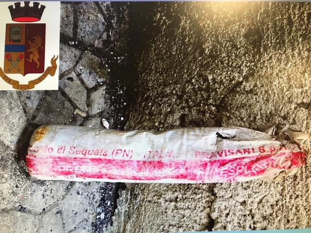 Nascondeva in un garage a Lentini esplosivo: finisce agli arresti domiciliari