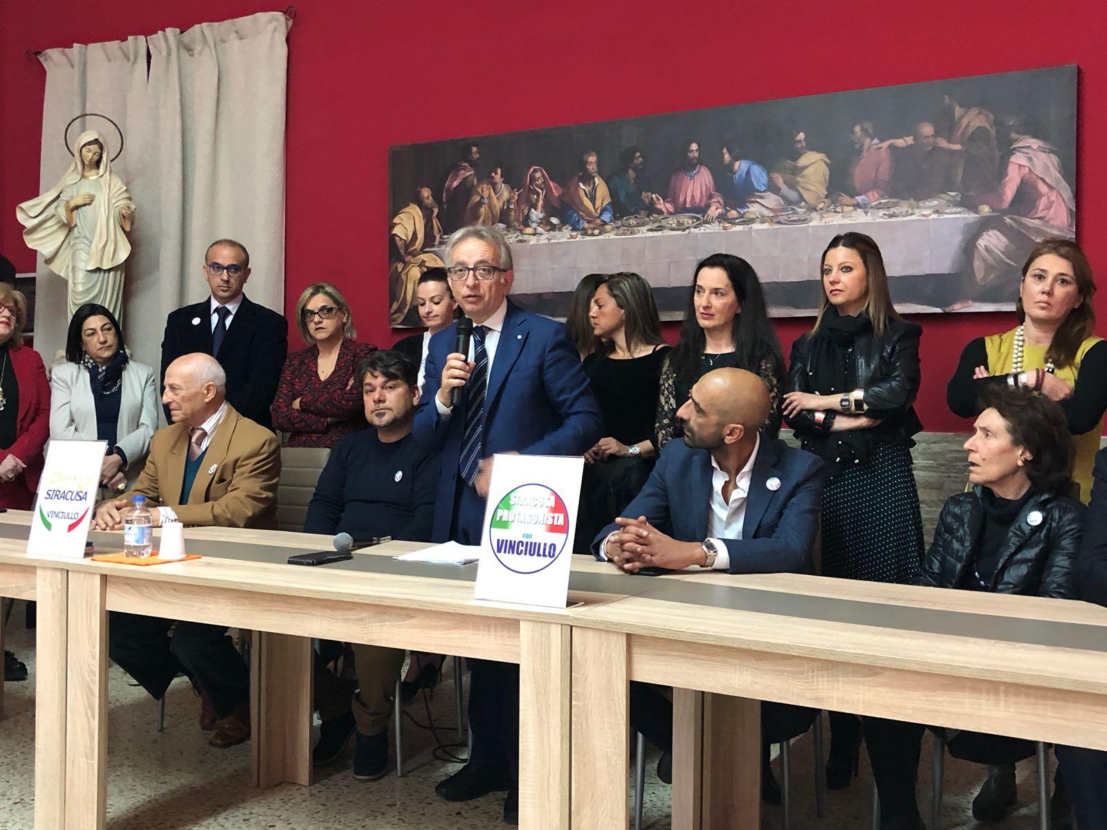 Elezioni, Vinciullo scalda i motori per diventare sindaco di Siracusa