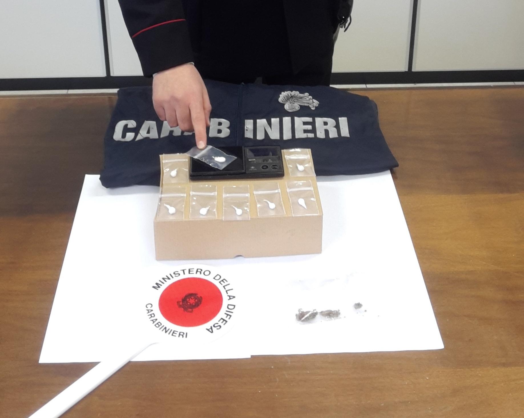 Modica, trovato con cocaina pronta allo spaccio: arrestato