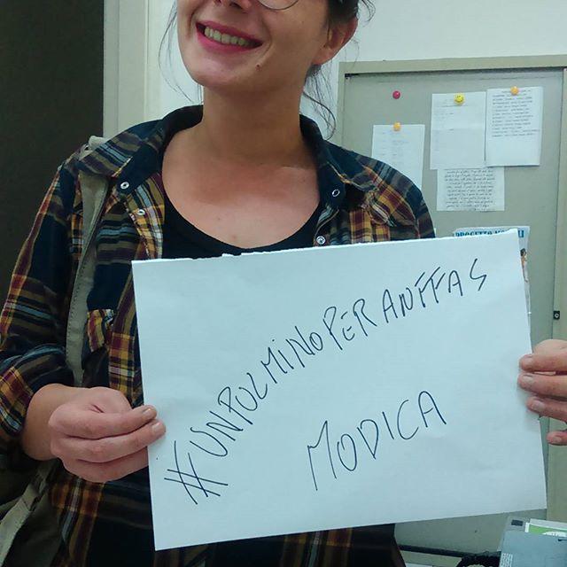 Modica, continua la campagna #unpulminoperAnffas
