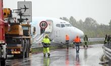 Bergamo, aereo esce di pista e invade tangenziale: nessun ferito