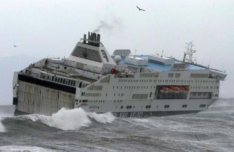 Maltempo: sospesi i collegamenti fra la Sicilia e le isole minori