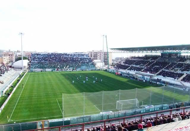 Lo stadio Granillo di Reggio Calabria off limits per i tifosi siracusani