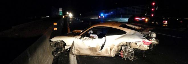 Schianto nel Frusinate su una Porsche, morti 2 giovani di Giugliano