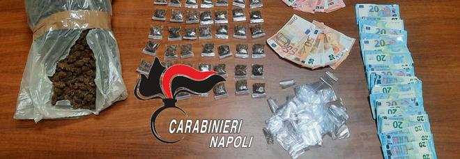 Droga in un Circolo abusivo nel Napoletano: due arresti