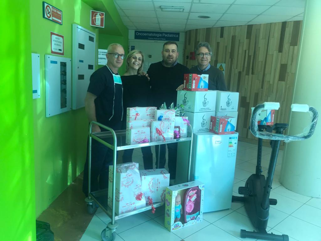 Da  Rosolini a  Catania per donare sorrisi ai bambini di Oncoematologia
