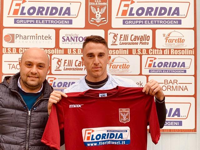 Calcio, il Città di Rosolini si rafforza con l'attaccante italo-argentino Franzino