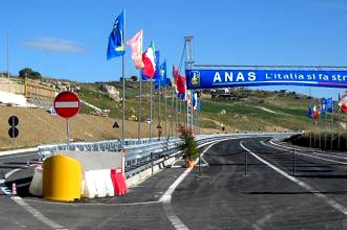 Inaugurato il primo lotto della  Agrigento - Caltanissetta