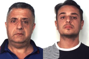 Mascalucia, arrestati per estorsione due presunti esponenti del clan Santapaola