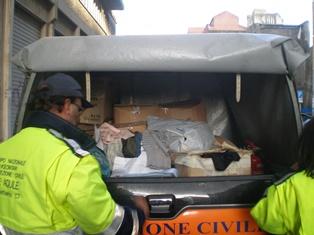 Catania, consegnate 500 coperte ai senzatetto