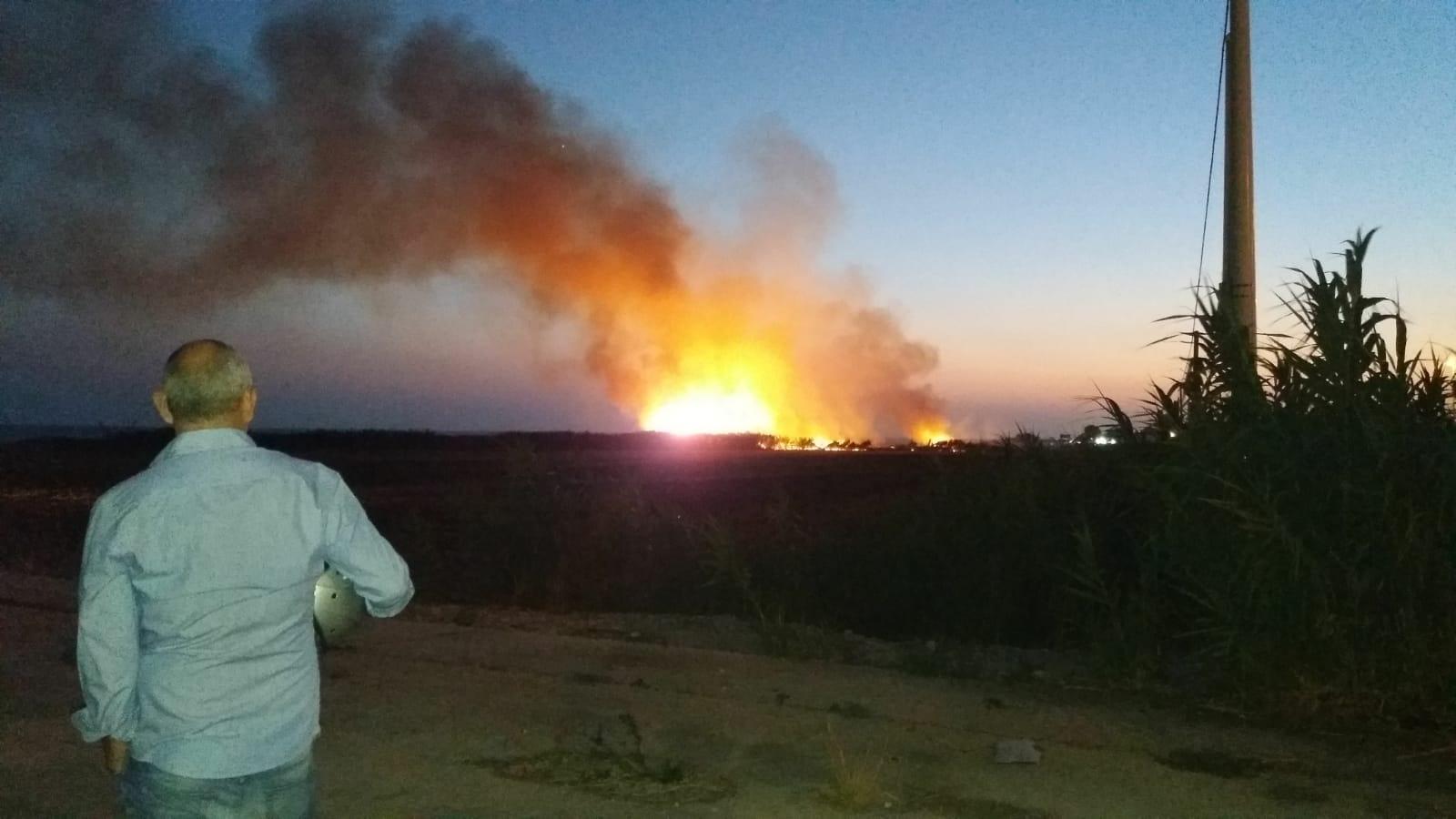 Incendio a Marina di Ragusa, le fiamme attaccano pure la Riserva
