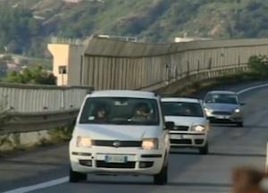 Aperta una carreggiata della Messina - Catania, si transita a doppio senso di circolazione
