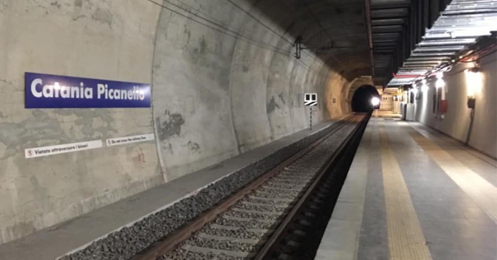 Metro, da domani operativa la fermata di Catania Picanello