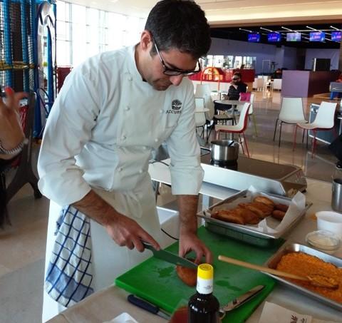 """Modica, a """"La Fortezza"""" le lezioni dello chef stellato Accursio Craparo"""