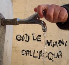 Acqua pubblica o privata, Nuova prospettiva: a Modica solo silenzio